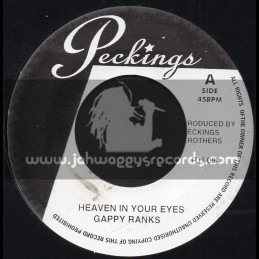 """Peckings-7""""-Heaven In Your Eyes / Gappy Ranks + My Life / Bunny Lie Lie"""