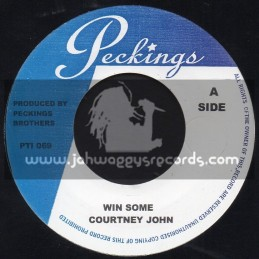 "Peckings-7""-Win Some / Courtney John + Bad Situation / Debbie Gordan"
