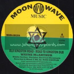 "Moon Wave Music-10""-Old Kingston Road / Wayne McArthur - Disciples Riddim Section"