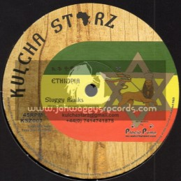 "Kulcha Starz-10""-Ethiopia / Sluggy Ranks + Anything For Jah / Rob Symeonn"
