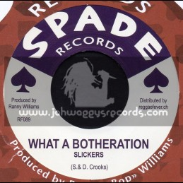 """Spade Records-7""""-What A Botheration / Slickers + Five For Hell / Eldorados"""
