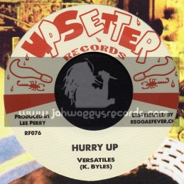 """Upsetter Records-7""""-Hurry Up / Versatiles + Dry Acid / Count Sticky & The Upsetters"""