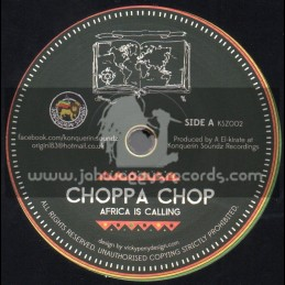 """Konquerin Soundz Recordings-7""""-Africa Is Calling / Choppa Chop + How We Do / Blackout JA"""