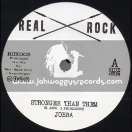 "Real Rock-7""-Stronger Than Them / Jobba"