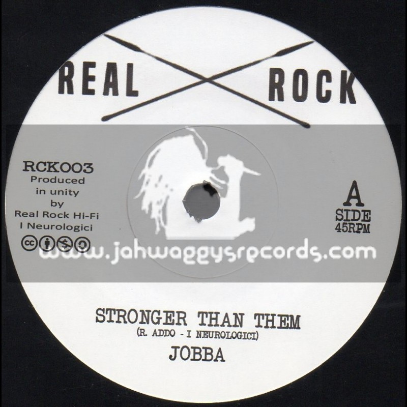 "Real Rock-7""-Stronger Than Them / Jobba"