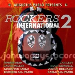 Greensleeves-Lp-Augustus Pablo Presents - Rockers International 2 - Various Artist