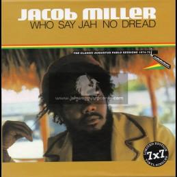"Greensleeves-7""-Box Set-Who Say Jah No Dread / Jacob Miller - Limited Edition"
