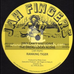 "Jah Fingers Music-12""-Why Cant You Leave The Dread Locks Alone / Ranking Tiger"