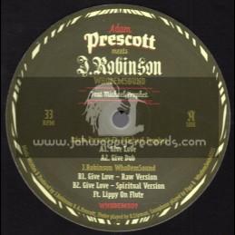 "Whodemsound Records-12""-Give Love / Adam Prescott Feat. Michael Prophet"