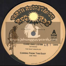 "Earth Resistance Records-12""-Come And Listen / The Maat Disciples + Indoctrination / Ital Horns And R. Souljah"