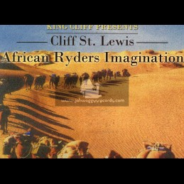 """King Cliff Productions-12""""-African Ryders Imagination / Cliff St. Lewis"""