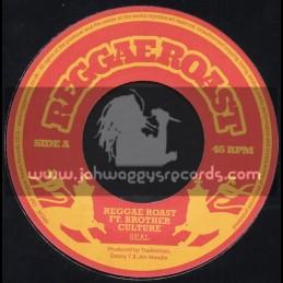 """Reggae Roast-7""""-Seal / Reggae Roast Feat. Brother Culture"""