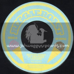 "Reggae Roast-7""-The Flava / Reggae Roast Feat. Brother Culture"