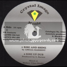 "Crystal Image Music-12""-Rise And Shine / Amelia Harmony + I Would Climb The Mountain / Tampanae"