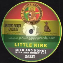 "Sir Logie International Records-10""-Milk And Honey / Little Kirk"