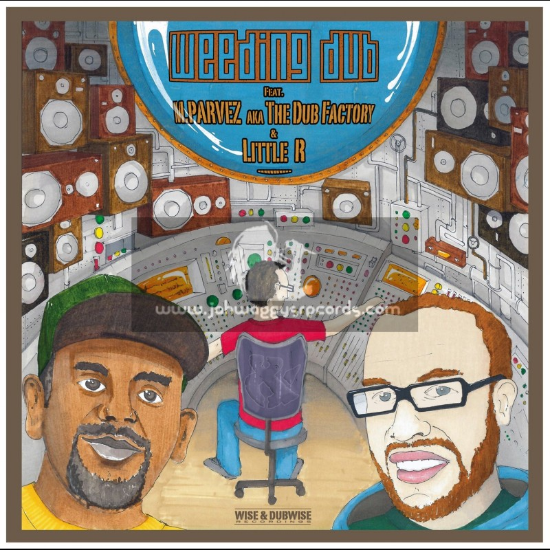 """Wise & Dubwise Recordings-12""""-Love Feat. M. Parvez Aka The Dub Factory"""