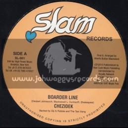 "Slam Records-7""-Border Line / Chezidek"