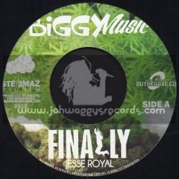 "Biggy Music-7""-Finally / Jessie Royal"
