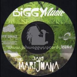 """Biggy Music-7""""-The Marijuana / Jah9 + Till A Morning / Deep Jahl"""