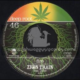 "Deep Root-7""-Fire / Zion ATrain Feat Jah9 & Addis Pablo"