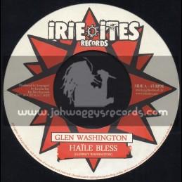 "Irie Ites-7""-Haile Bless / Glen Washington + Rock Ina Dancehall / Trinity"