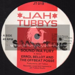 "Jah Tubbys-12""-Sound Ina Fury / Errol Bellot & The Offbeat Posse"