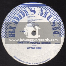 "Ruddy Music-12""-Ghetto People Broke / Little Kirk"