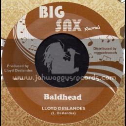 """Big Sax Records-7""""-Baldhead / Lloyde Deslandes"""