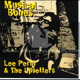 Justice League-Lp-Musical Bones / Lee Perry And The Upsetters