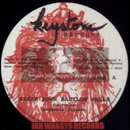"KEYSTONE RECORDS-12""-BREAK DOWN BABYLON WALLS / KEYSTONE PLAYERS(DUB STRIDER)"
