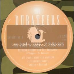 "Dubateers-10""-Go Back A Yard / Creation Stepper + Dibby Crackhead / Dandelion"