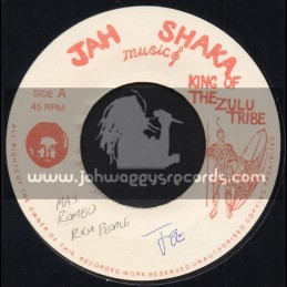 "Jah Shaka Music-7""-Rich People / Max Romeo"