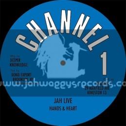 "Channel 1-10""-Jah Live / Hands And Hearts + I Dont Wanna Feel Ashamed / Angela Prince"