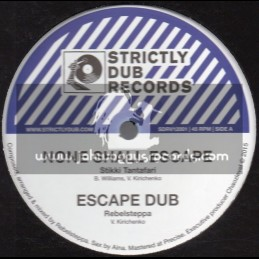 """Strictly Dub Records-12""""-None Shall Escape / Stikki Tantafari + Give Unto Jah / Sista Sherin"""