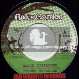 "ROOTS GARDEN-7""-BLACK STARLINER / JOHNNEY OSBOURNE(MANASSEH)"