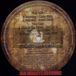 "REPENTANCE MUSIC-12""WARNING / CLAIRE RAY + WARNING / IZYAH DAVIS"