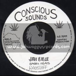 """Conscious Sounds-7""""-Jah Bible / Barry Issacs"""