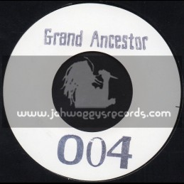 """Grand Ancestor-004-7""""-Straight To Mi Brain / THE ILLUMINATED & DISTANT ROOTS FT. CLINTON SLY"""