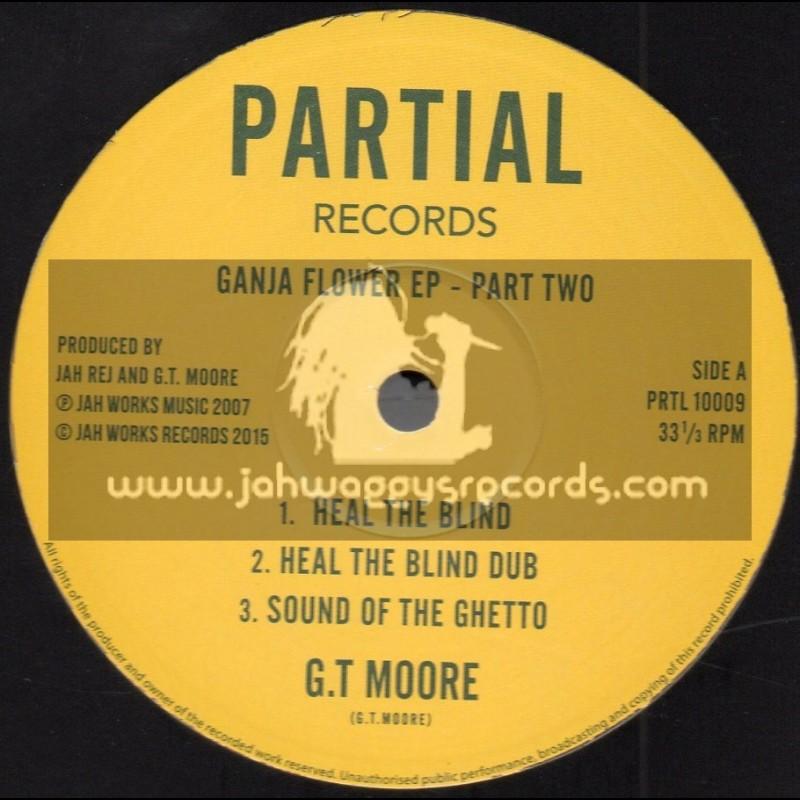 "Partial Records-10""-Ganja Flower Ep - Part Two / Jah Rej & G.T Moore"