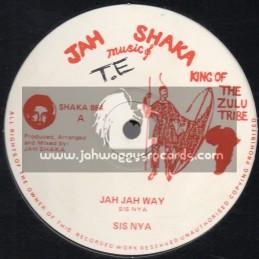 """JAH SHAKA MUSIC-12""""-JAH JAH WAY / SIS NYA"""