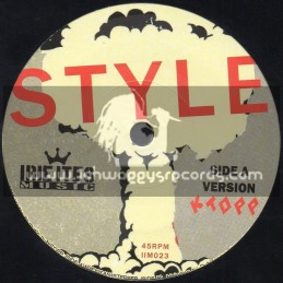 "Irie Ites Music-7""-Style / Ktopp Version + Style / Mexican Stepper Version"