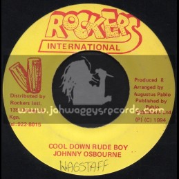 "Rockers International-7""-Cool Down Rude Boy / Johnny Osbourne"