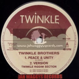 "TWINKLE BROTHERS-12""-PEACE & UNITY/TWINKLE BROTHERS + OUR FATHER/DELLA GRANT"