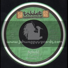 """Tablet Records-7""""-Behold / Ranking Fox"""