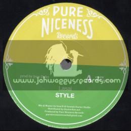 "Pure Niceness Records-7""-Style / Lasai + Love Digital / Tenor Youthman"