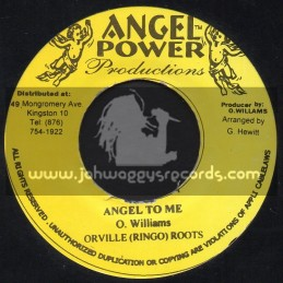 """Angel Power Productions-7""""-Angel To Me / Orville Ringo Roots"""