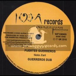 "I W A Records-10""-Fuertes Guerreros / Sista Zari + Freedom Fighters / Iwarriyah"