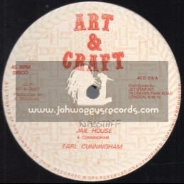 "Art And Craft-12""-Jail House / Earl Cunningham"