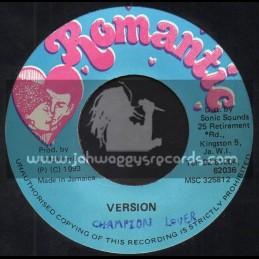 "Romantic-7""-Chamion Lover / Little John"