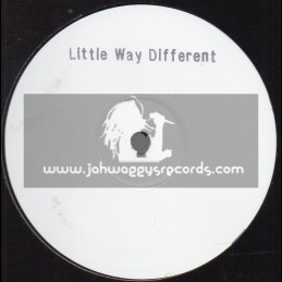 """White Label-One Sided-12""""-Little Way Different / Errol Dunkley"""